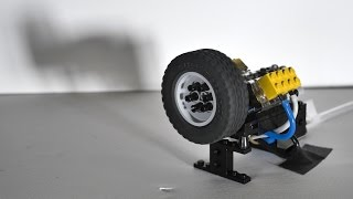 Lego Technic Pneumatic Engine How To Make Connector For V