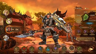 World of Kings gameplay: Global Launch First Impression  Mobile WoW!