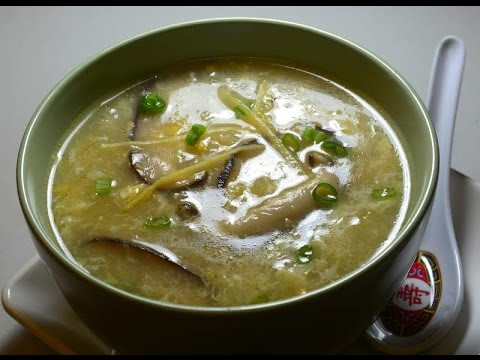 Soup:  Creamed Corn with Fish Maw : Authentic Chinese Cooking