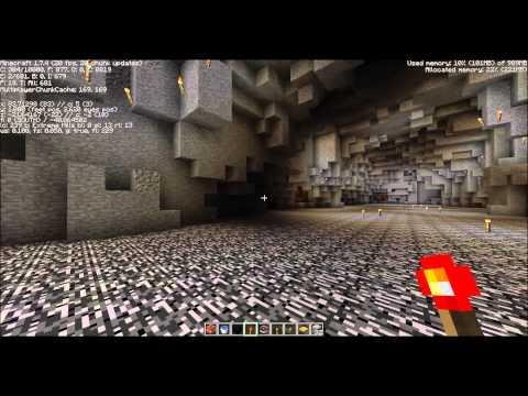 Griefing my friends minecraft Server (TNT)