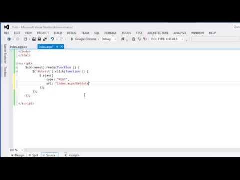 Get data using ajax jquery