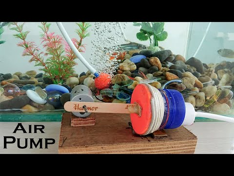 How to Make an Air Pump for Aquarium using bottle