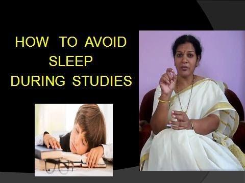 TIPS  TO  AVOID  SLEEP  DURING  STUDIES
