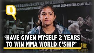 Ritu Phogat's Debut MMA Fight on 16 November in Beijing | The Quint