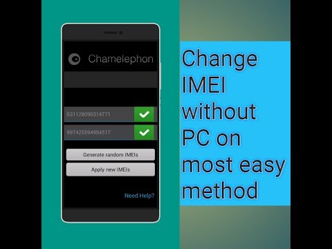 Change imei without pc on most easy method