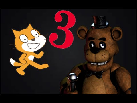 How to make a FNAF Game in Scratch Part 3| Scrolling office and Animatronics!|