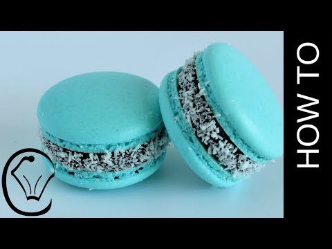 NO Resting - Bounty French Macarons with Chocolate and Coconut
