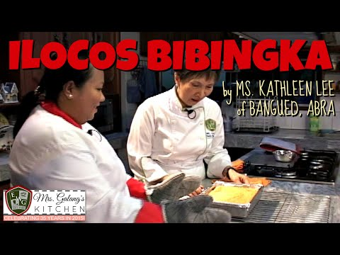 ILOCOS BIBINGKA by Ms. KATHLEEN LEE of Bangued, Abra (Mrs. Galang's Kitchen S1, Ep8)