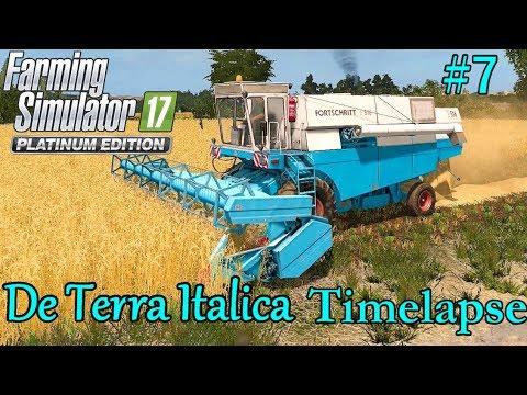 FS17 Timelapse, De Terra Italica #7: First Harvest!