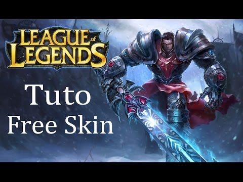 tuto free skin garen League of legend