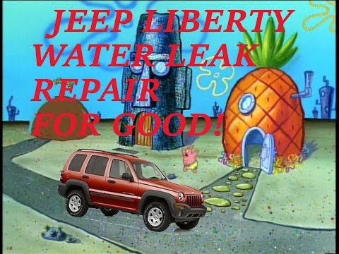 Jeep Liberty Water Leak Repair