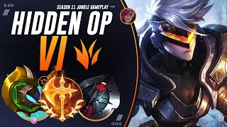 Vi Jungle Is STRONG: How The Rank 1 Vi Got CHALLENGER By Being Everywhere On The Map! | Jungle Guide