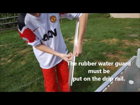 Shower Door Drip Rail