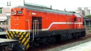 鐵路貨車風景③ 三十五噸級「平車p35f30000型」軍闊運輸 Rail Flatcar