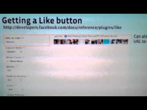Facebook Like Button for Websites