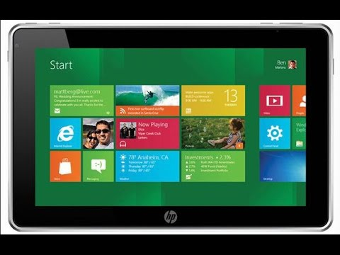 HP Tablet Password Reset – Rest Windows 8 Pro Password on HP ElitePad 900