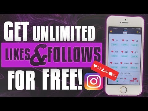 GET 100% REAL LIKES & FOLLOWERS ON INSTAGRAM FOR FREE ** 2017 ** WORKING