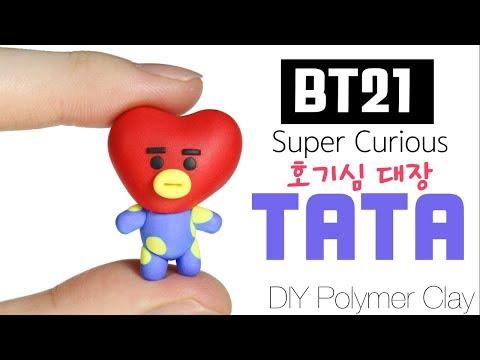 BT21 BTPlanet Series: How to DIY TATA Polymer Clay Tutorial