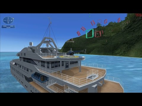 FSX Mission -  Helicopter Maneuvers 2 (under 60s)