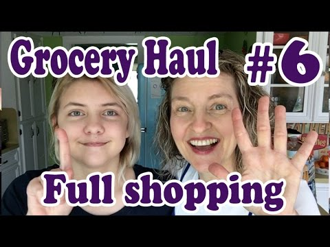 Jill's Grocery Haul #6 Full Shop