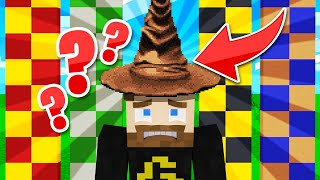 how I ACCIDENTALLY got put in the WORST House (Harry Potter Minecraft)