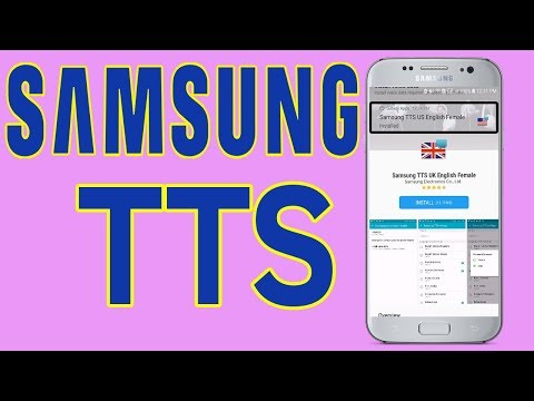 Samsung Galaxy TTS : How To install Samsung Text To Speech - Helping Mind