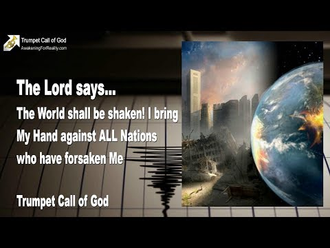 2 DAYS BEFORE THE EARTHQUAKE IN HAITI ... THE WORLD SHALL BE SHAKEN ❤️ TRUMPET CALL OF GOD