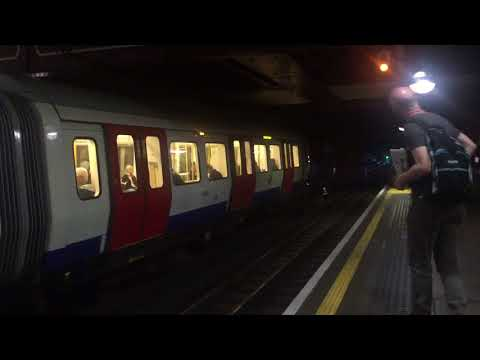 London Underground S Stocks at Baker Street 2018