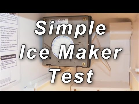 Simple Icemaker Check