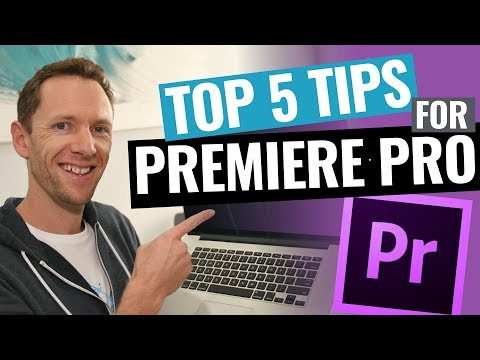 5 Adobe Premiere Pro Editing Tips to Edit Videos FASTER!