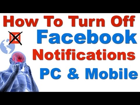 How to Stop Unwanted Facebook Notifications On Phone and PC  (Facebook Notifications Off)