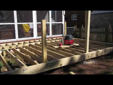 American Franklin Construction #31! New Deck and SunRoom!