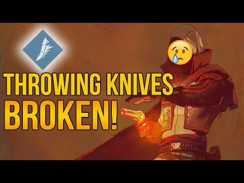 Throwing Knives are Broken! - Destiny 2