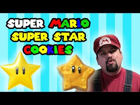 Super Mario Super Star Cookies - Let's Cook