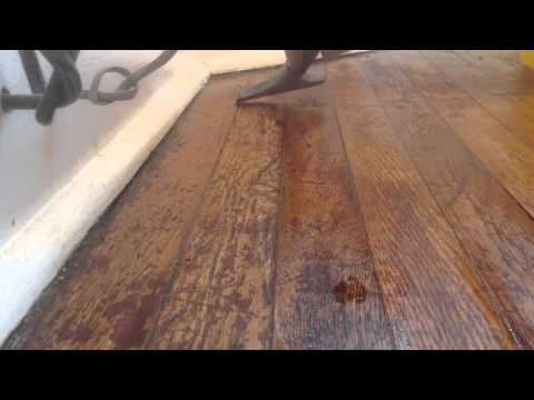 How to refinish your hardwood floors without sanding part 2