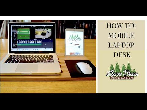 How To // Modern Mobile Laptop Desk