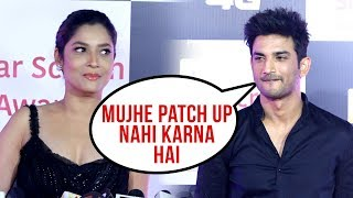 Sushant Singh Rajput NOT INTERESTED to Get Back with ex Ankita Lokhande - Star Screen Awards 2018