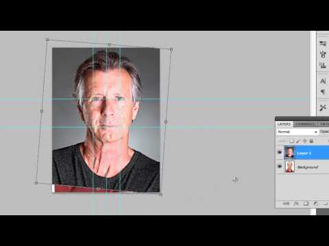 How to Make Young Person Look Old in Photoshop