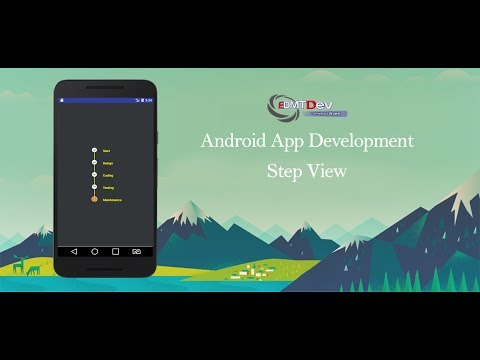 Android Studio Tutorial - Step View