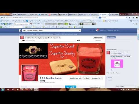 How To Post An Album To Facebook Groups - 3-8-1 Candles Jewelry Swap