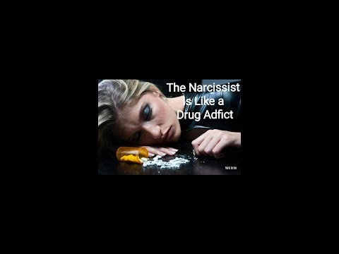 The Narcissist is Like a Drug Addict