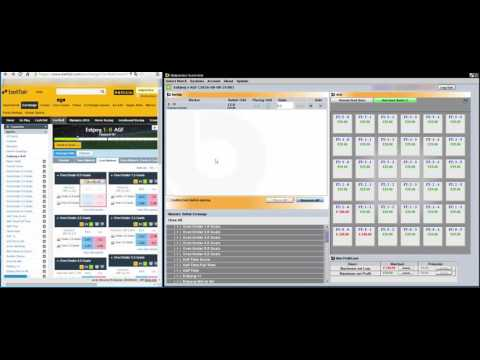Secure Profit after the first Goal – In play ScoreGrid Strategy