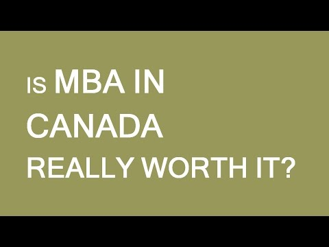 Is MBA in Canada really worth it? LP Group