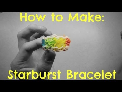 How to Make - Starburst Loom Bracelet