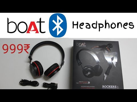 boat rockerz 400 headphones Unboxing |in Telugu |Ds Tech Guru