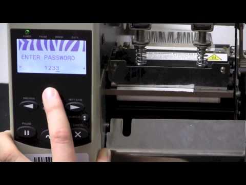 Setting a Static IP Address on an Xi4 Printer