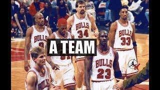 CHICAGO BULLS 1996 - A TEAM