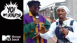 Download 'Tupac & Fab 5 Freddy' 🎤 Official Throwback Clip   Yo! MTV Raps   MTV Video