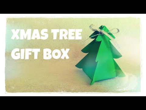 Christmas Tree Gift Box - Origami Easy/ 4Kids Chanel