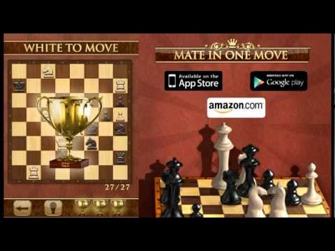 Play Chess Puzzle on iPhone/iPad/Android - Mate in One Move